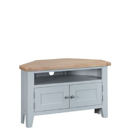 Toulouse Grey Corner TV Unit